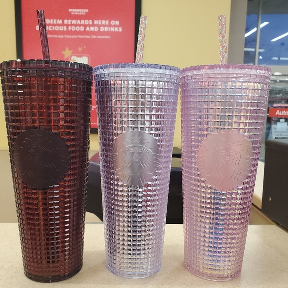 Starbucks Plum, Silver, and Pink Holiday T…